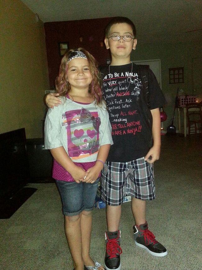 Big Bro And Baby Sis