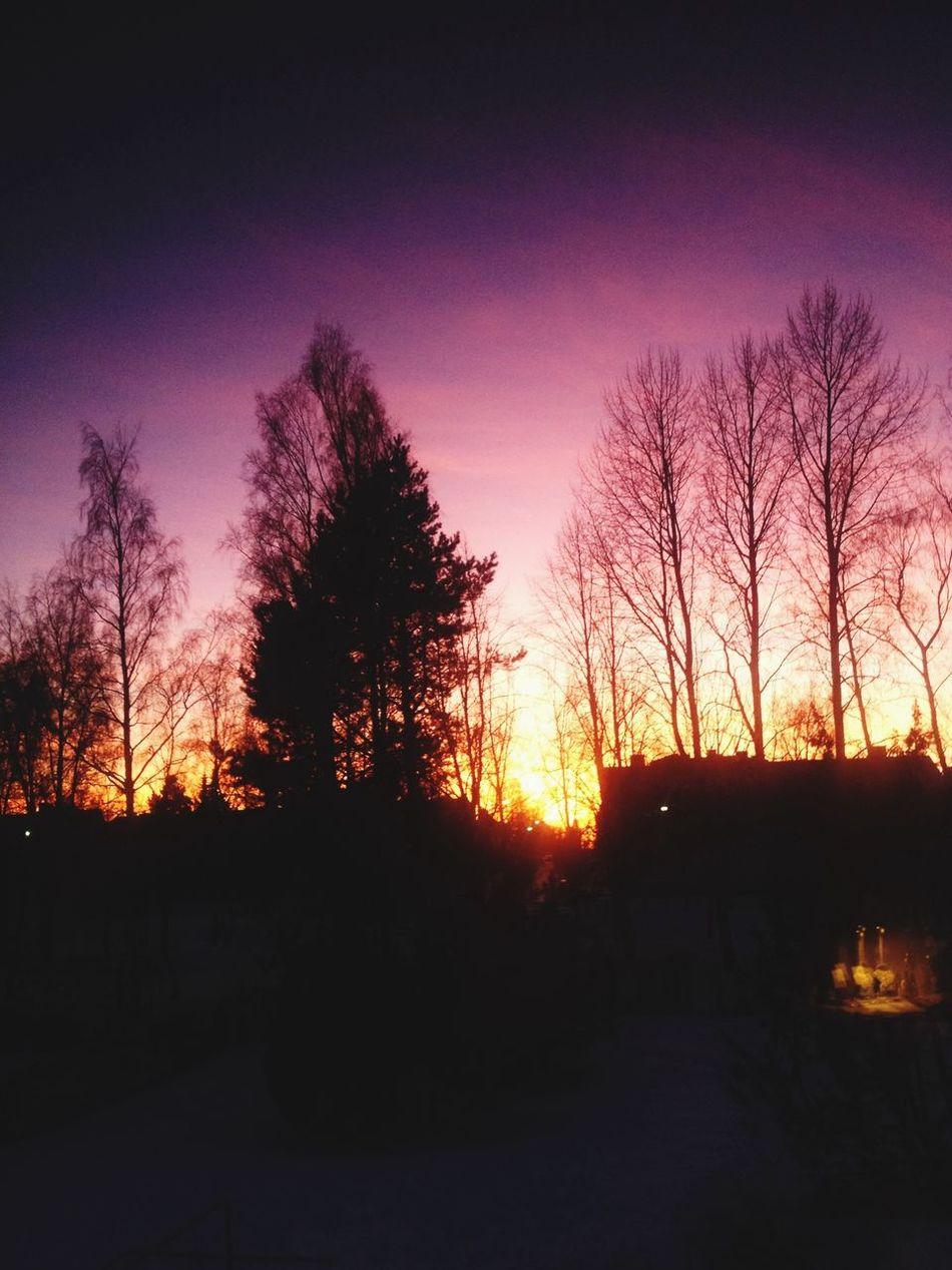 Sunset Weekend Mummola Colors Vaasa