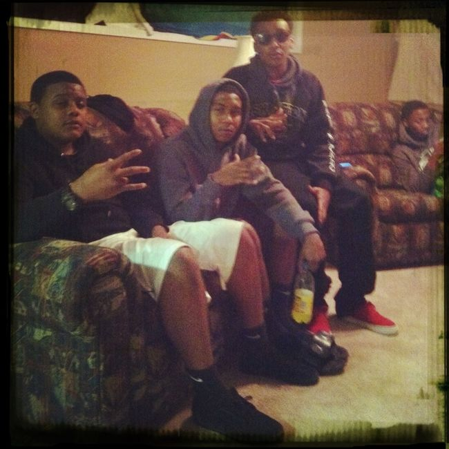 Me And The Homies!