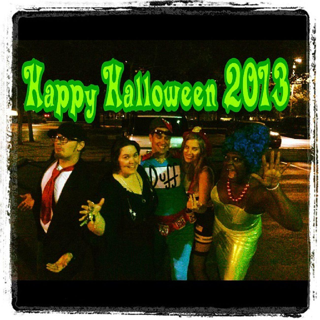 Happy Halloween 2013 Halloween2013 Halloween Duffys GoodTimes parkinglot @bigrob420