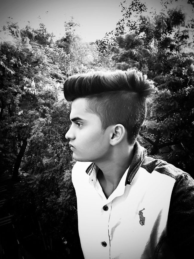 Model Modeling Handsome Cute Thinking B/w Brijesh Photography Self Portrait