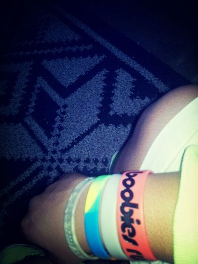My wrist bands