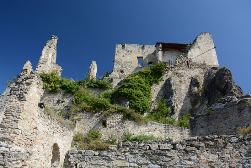 Ruine Dürnstein in Wachau, Austria Ancient Archaeology Architecture Castle Clear Sky Day Dürnstein Fort History Nature No People Old Ruin Outdoors Rock - Object Ruine Ruined Travel Destinations
