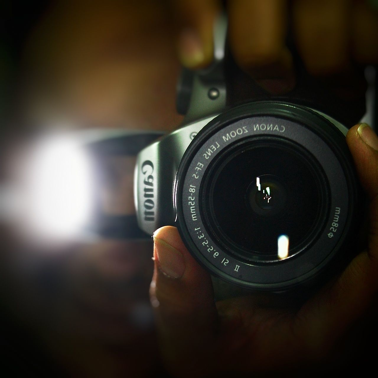 Photography Themes Camera - Photographic Equipment Close-up Old-fashioned Photograph No People Technology SLR Camera Modern Indoors  Day Camera Flash Photography Photographer Photographer In The Shot Self Portrait Self Portrait With Camera Self Portrait Photography Self Portrait Experiments