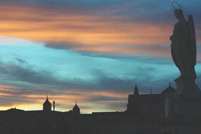 Córdoba SPAIN Arcangel San Rafael Sunset