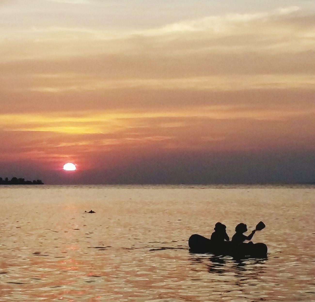 Sunset at Tanjung Gelam, Karimunjawa Island, Indonesia First Eyeem Photo