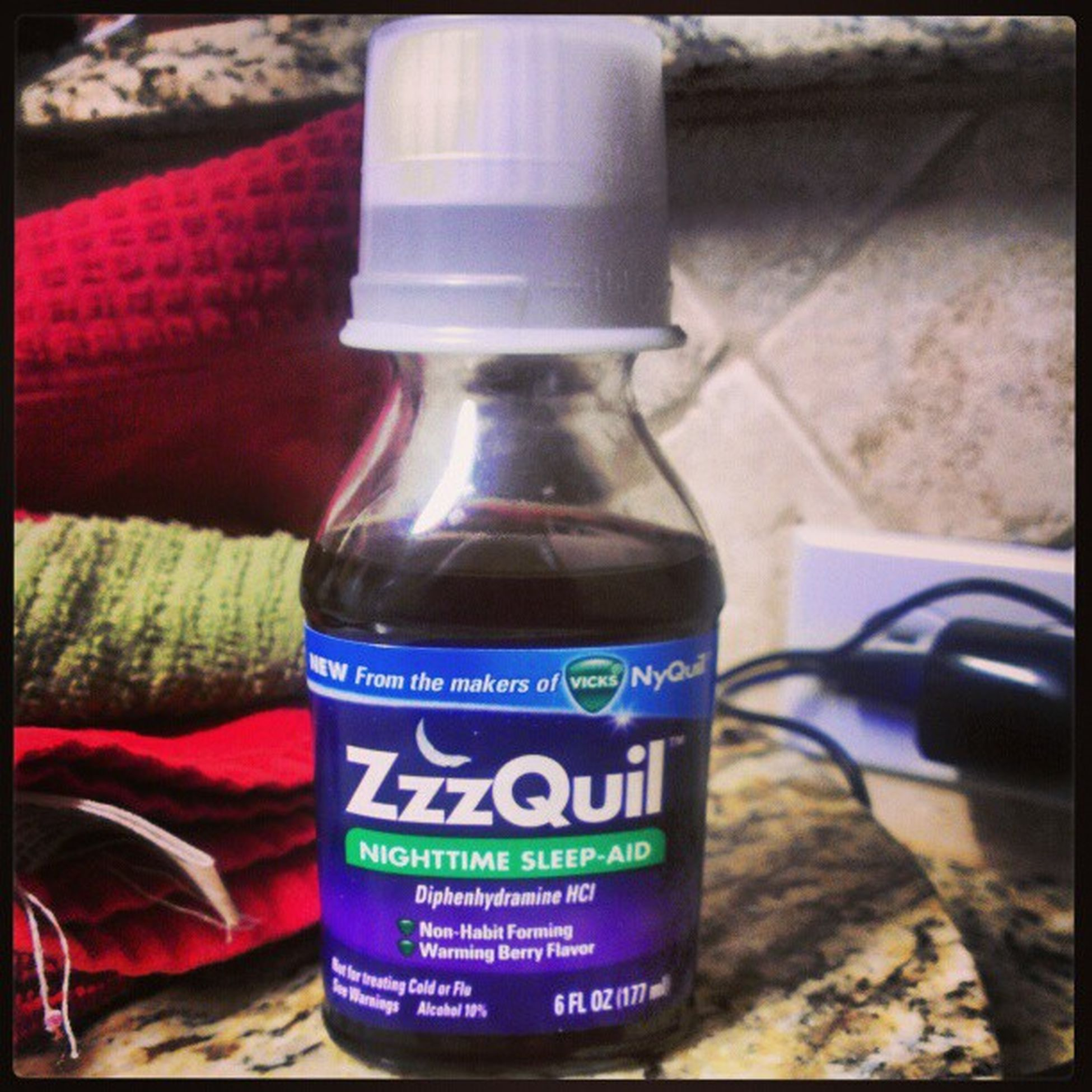 ZzzQuil makes you yall in your sleep.....o_O from what I was told....I bet you didn't sleep better than me.....Hooked
