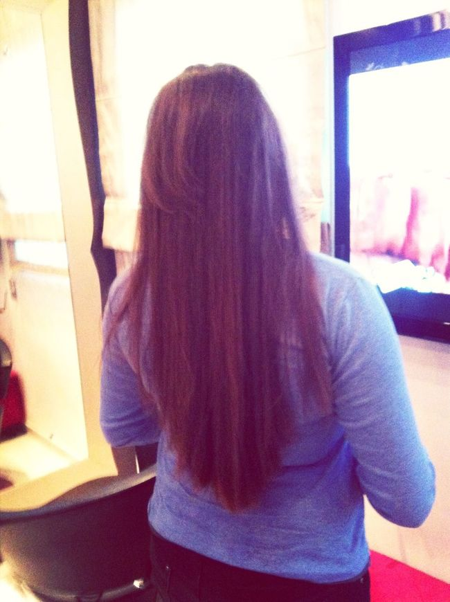 Hello World Check This Out My Bestie's Hair ❤ Long Hair, Don't Care. ??