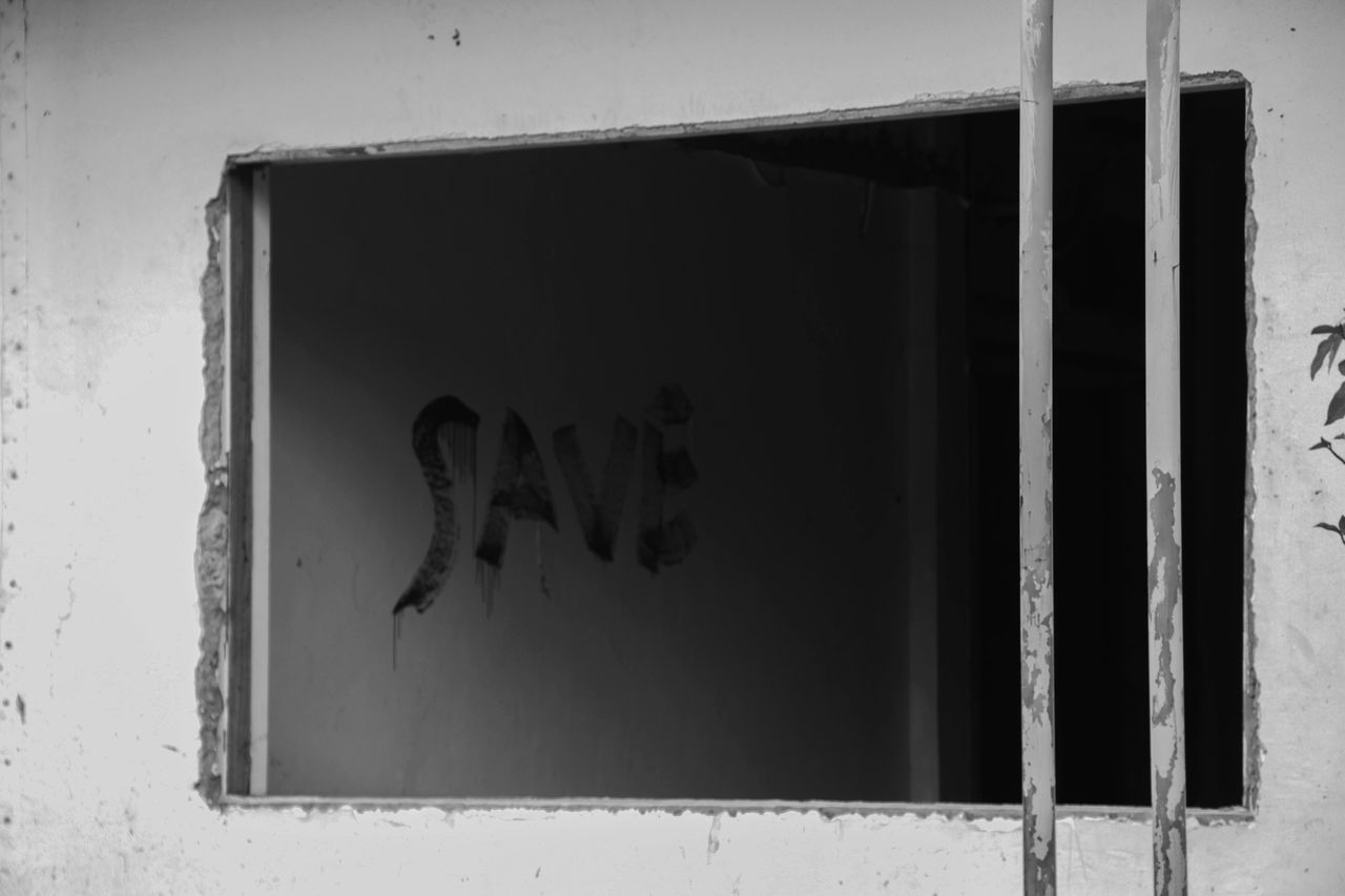 Built Structure Day Architecture Indoors  Close-up The Street Photographer - 2017 EyeEm Awards Outdoors Street Photography Streetphotography Black & White Black&white Photography Damaged Architecture Window