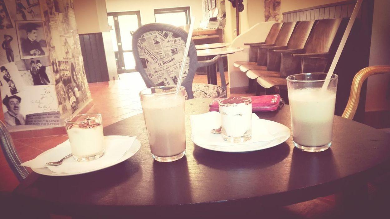 Coffee ☕ Coffee Time Latte Tiramisu Mňamka Friends Hi! Perfect