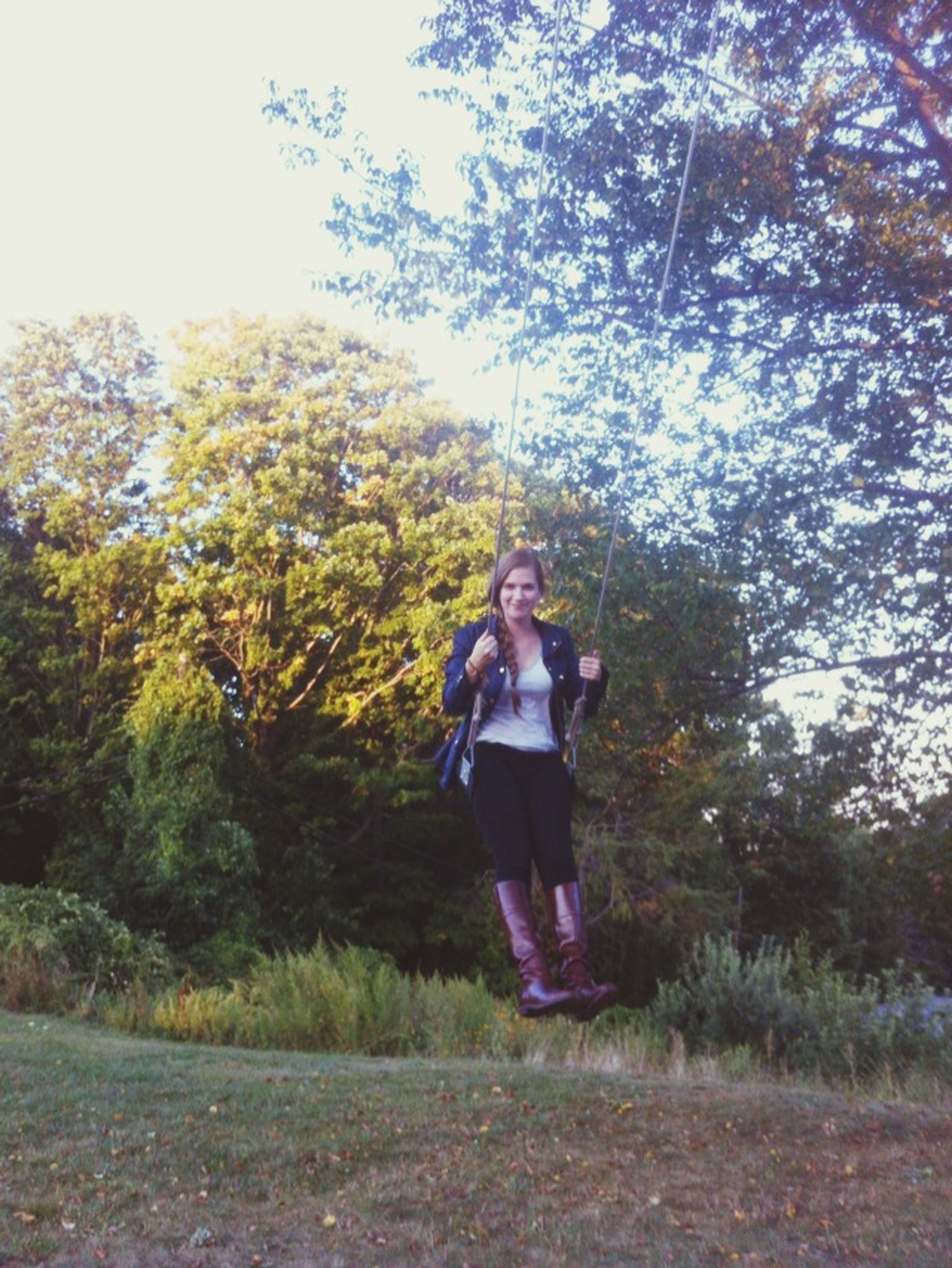 Swing Urban Nature Fun Outdoors