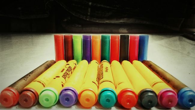Colour Of Life Sketch Pens Open Up
