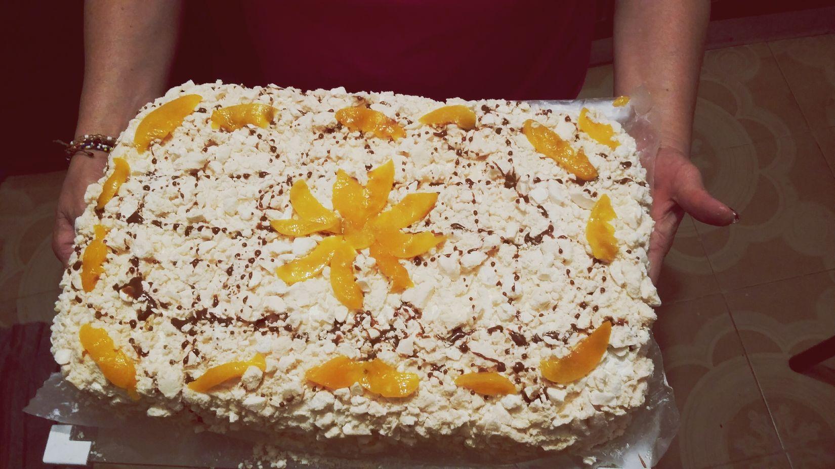 Lo mejor de la comida uruguaya 😍😍Chaja Cake♥ Yummy♡ Traditionalfood Uruguay♥♥