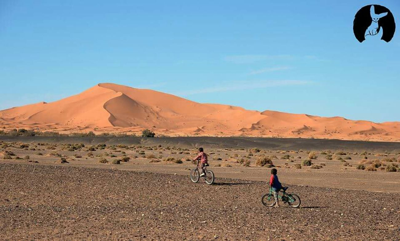 Bike Ride in the Desert with NOMAD Kids Stunning Morocco Travel Traveling The Great Outdoors - 2015 EyeEm Awards
