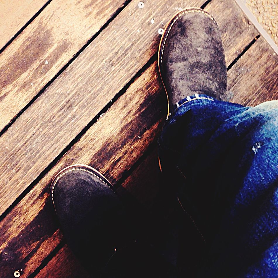 boots of the day Boots Denim Wesco Wesco Boot Wtaps