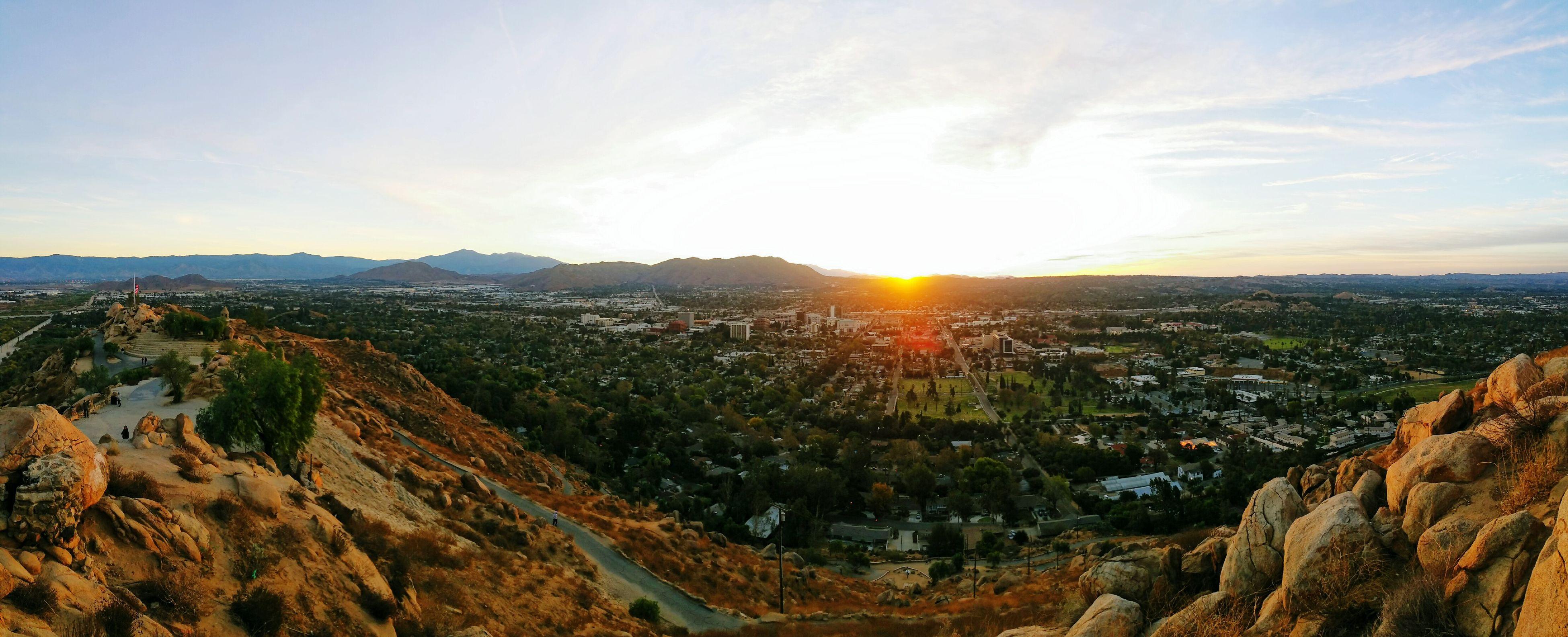 Hiking Nature Outdoors Riverside, California Mt. Rubidoux Sunrise Beauty In Nature