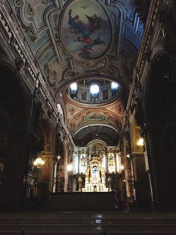 Nave central catedral metropolitana.