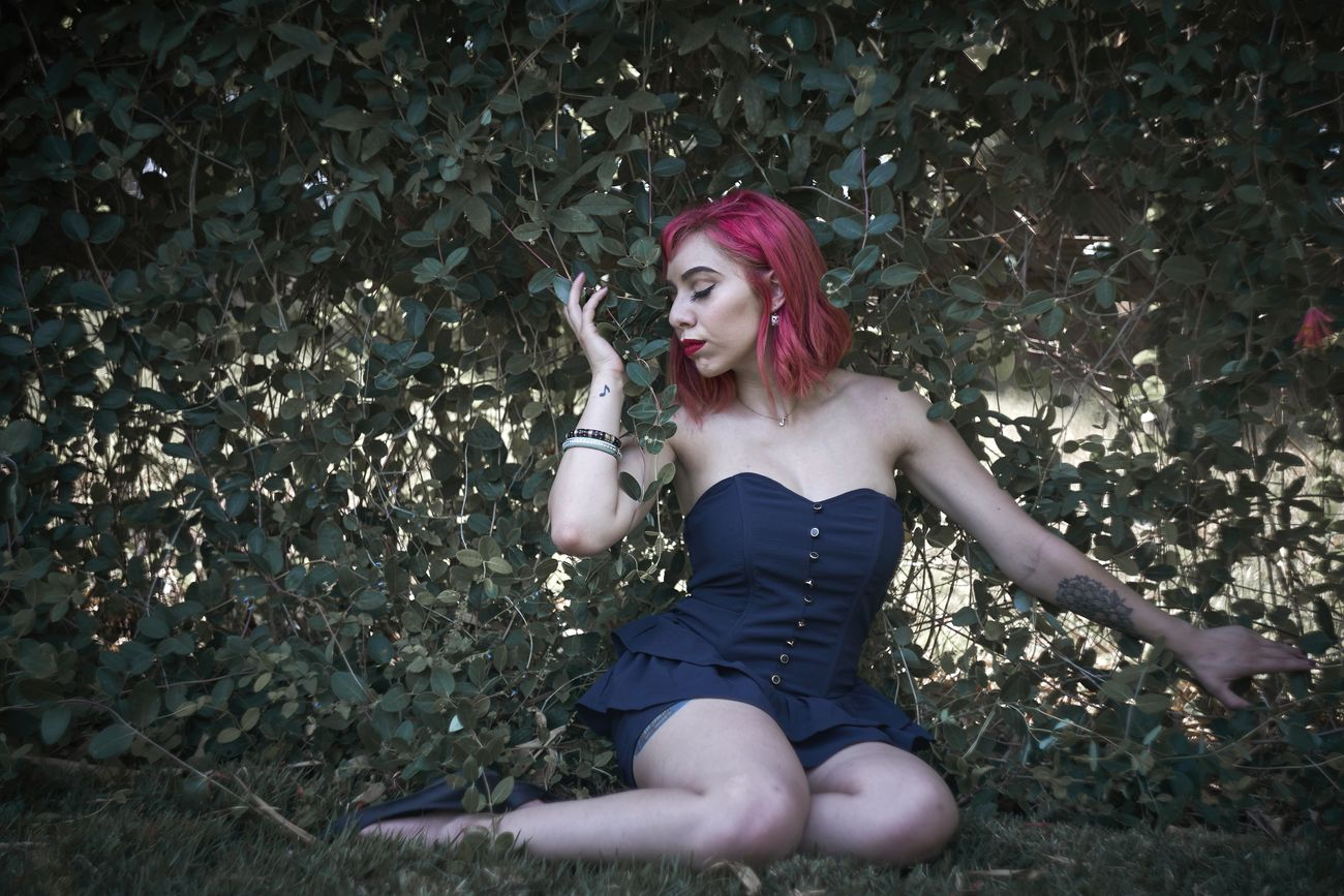 Beauty Fashion Beautiful People One Person Beautiful Woman Lipstick Young Women Dyed Hair Outdoors Fashion Model Adults Only Moody Pretty Natural Beauty One Woman Only People Human Body Part Adult Temptation Young Adult Only Women Human Lips Day