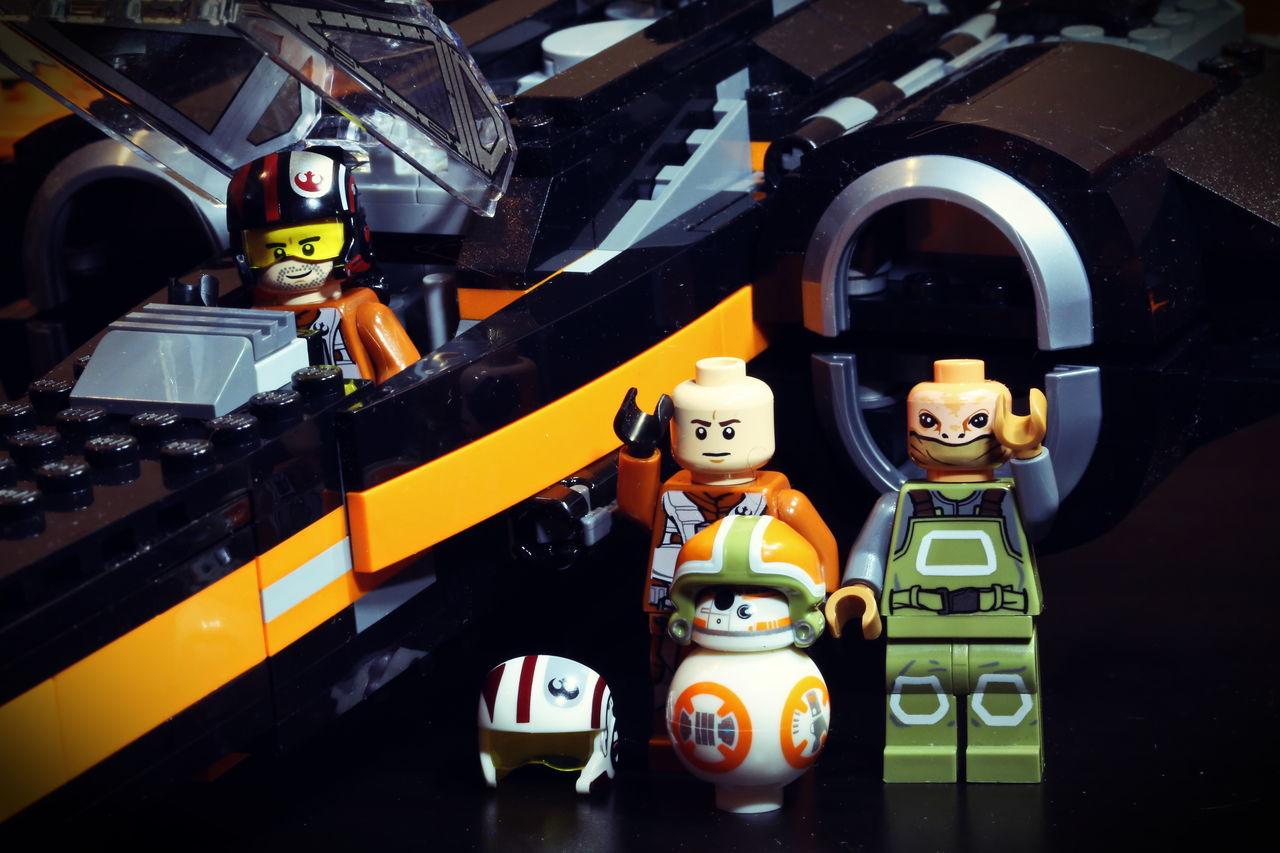 Collection Composition Figure LEGO Macro Men Starwars