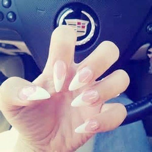 Nails French WhiteBaby