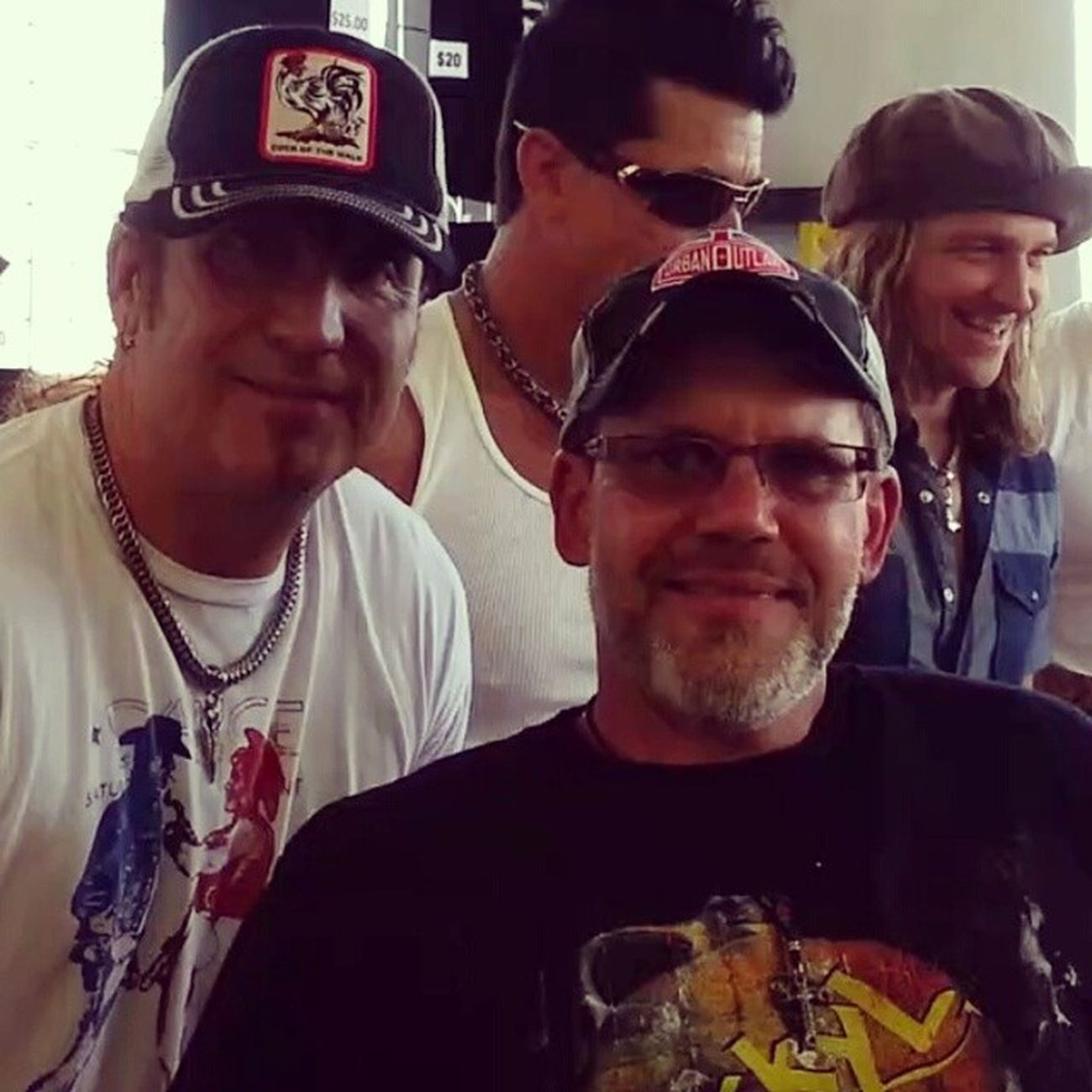 HOW Insane IS THIS?!? HANGIN WITH THE GUYS FROM THE BAND Jackyl !! THIS WAS AT THE TOP OF THE LIST AS THINGS TO DO @ Rockusa THIS YR!!! Rockon Oshkoshwisconsinrockusa Rocknroll Rockusa MeetAndGreet
