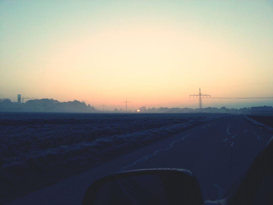 Sunrise in April :)
