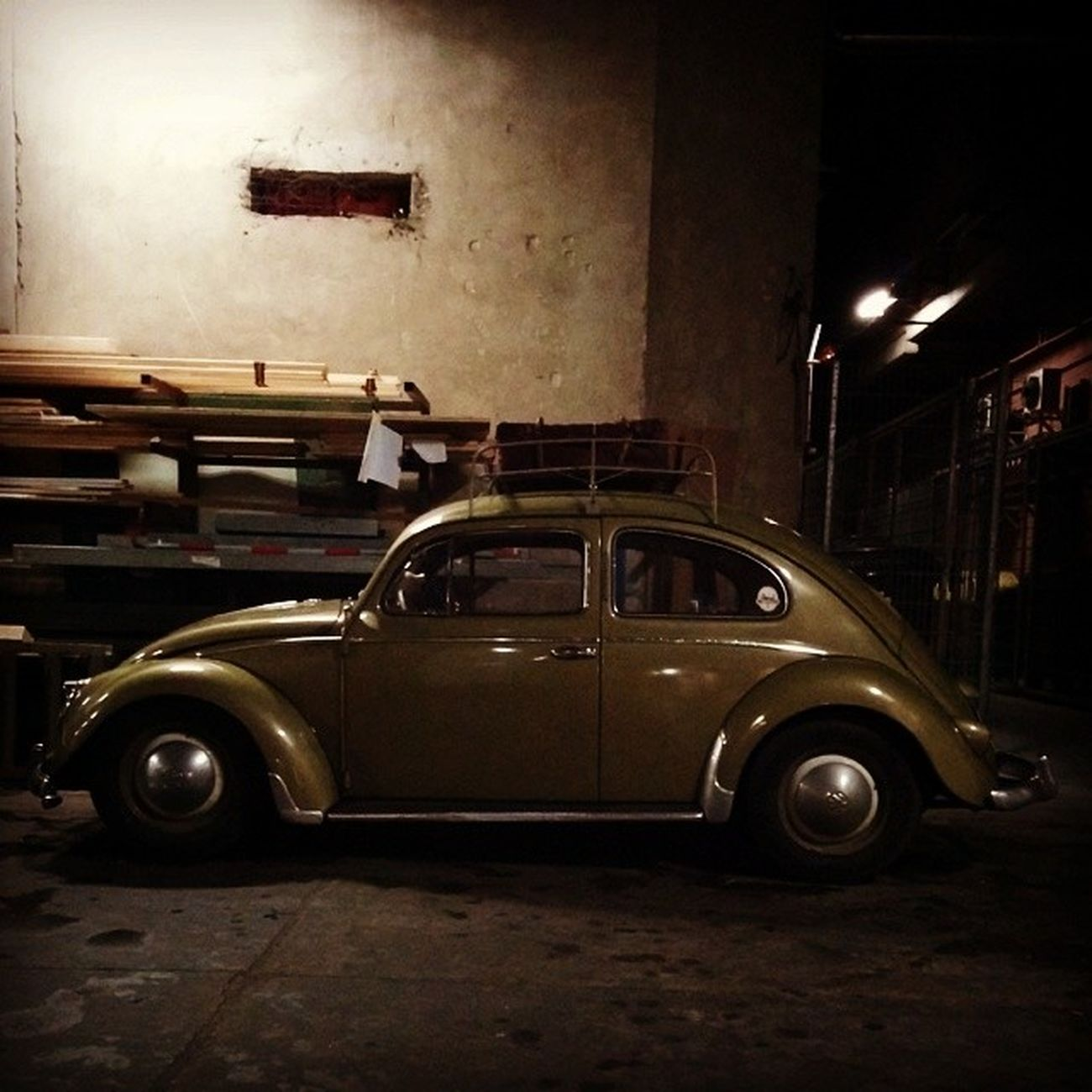 Schick Altekarrenbattle VW Oldtimer