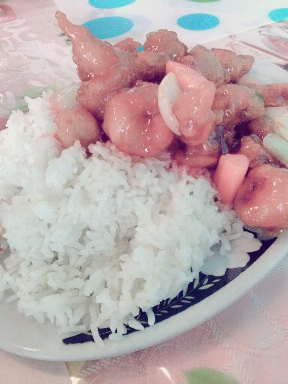 Foodporn Chinese Food Sweetandsourpork Delicious