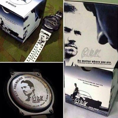 Dying to have this Paul Walker G-Shock... Love it! ❤️👍 Gshock_Lover