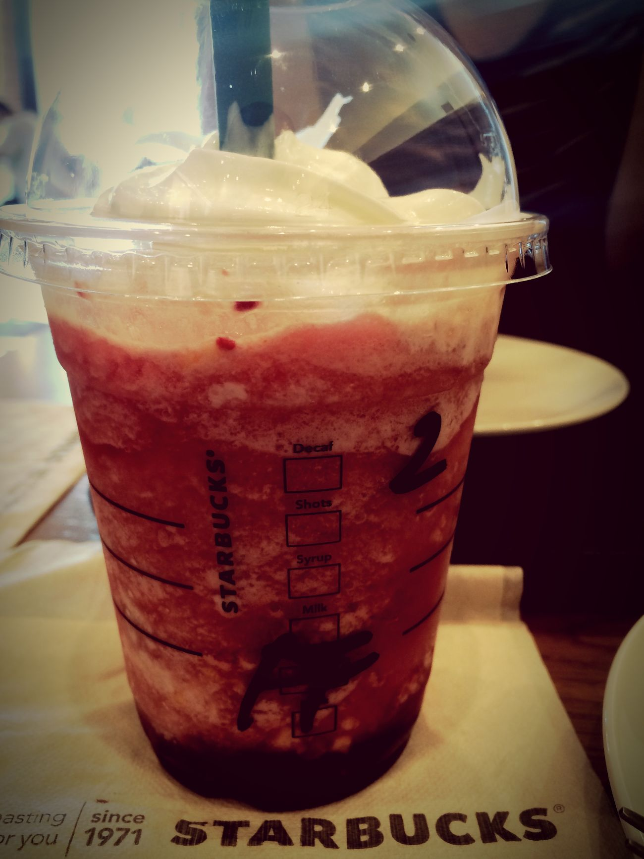 フレッシュフルーツ Starbucks Frappucino Fukuoka TwentySomething Monday