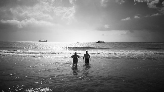 Beach Blackandwhite Black And White Water_collection