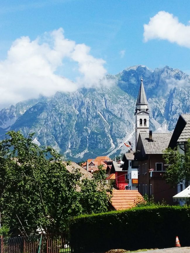 Mountain View Mountains In Background Mountains Mountain Town Mountain_collection Mountains And Valleys Mountainscape Relaxing Small Mountain Village Italy