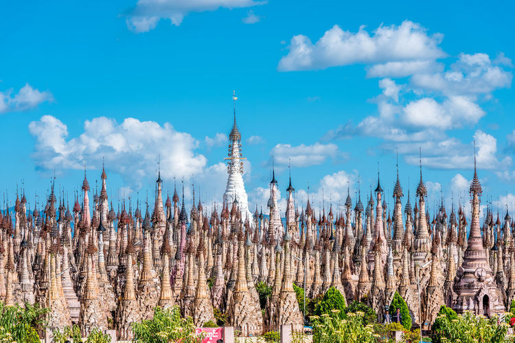 Countless Culture Forest Of Towers Imagination More Than You Need One Above All Pagodas Place Of Worship Static Army