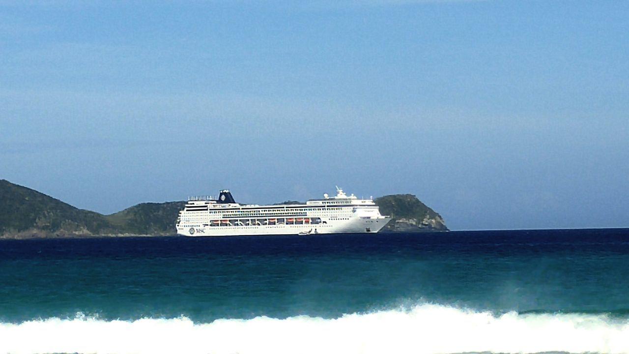 Navy Navio Cruzeiro Msc Cabofrio  Praia