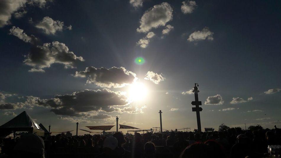 Nature Sky Cloud - Sky Social Issues Outdoors No People Astronomy Day Belohorizontecity Sun Goodvibes