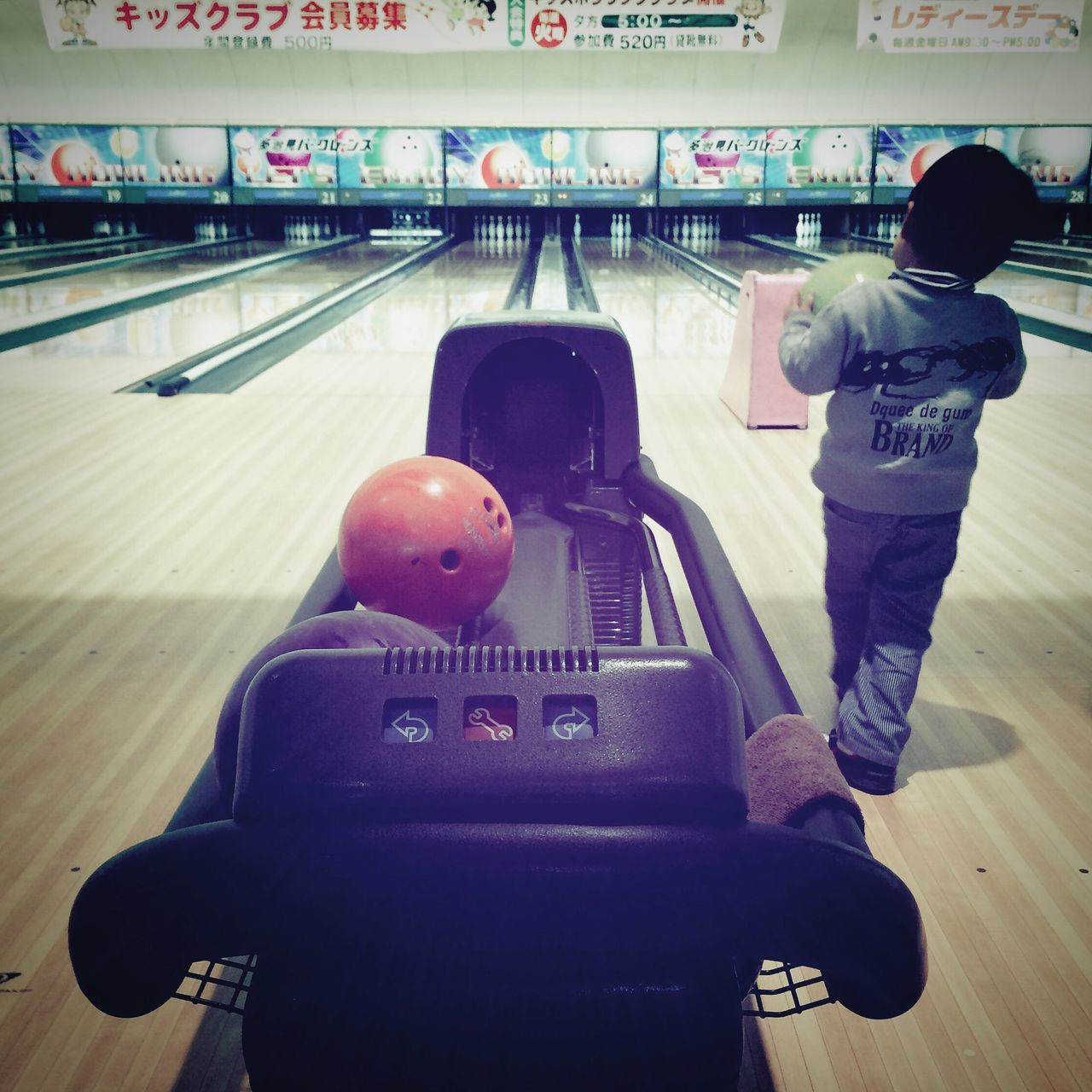 Beautiful stock photos of bowling, Bowling Alley, Bowling Ball, Boys, Childhood