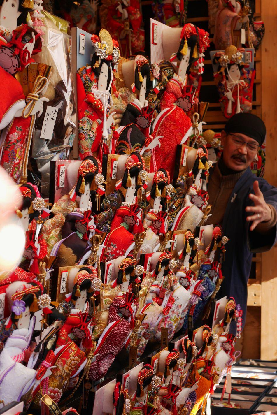 Battledore fair/羽子板市 お店によって絵の表情が微細に異なっているのが楽しいです Battledore Fair Traditional Hanging Out Enjoying Life Japan Style I Heart Tokyo My Winter Favorites LUMIX DMC-GX7