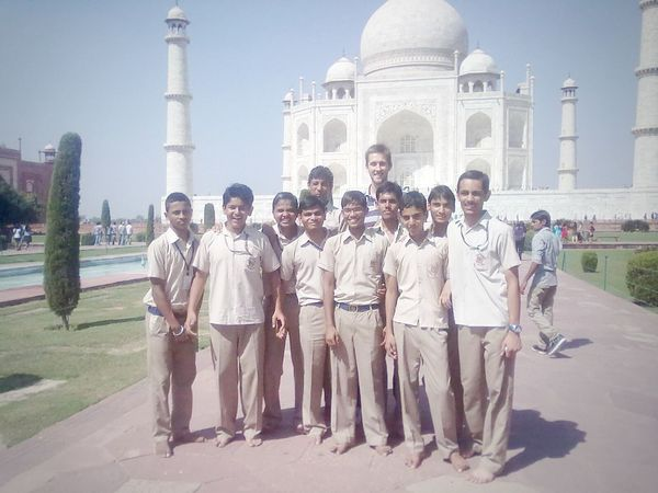 My Student Life my 10th Buddies best Tour of life till now.... Enjoyed My Day . Touring to Agra.world most beautiful place and Monuments Of The World. Taj Mahal a symbol of Love but tht stage known only friendship...miss all my buddies and tht tall buddy who just stepped into for the click