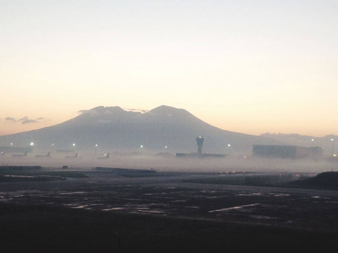 Airport Freedom Hello World Vesuvio Naples Italy From_city Art Boarding