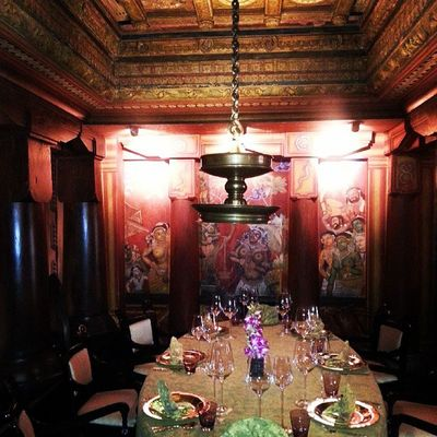 Surreal dining experience. Luxury Dining Delhi India
