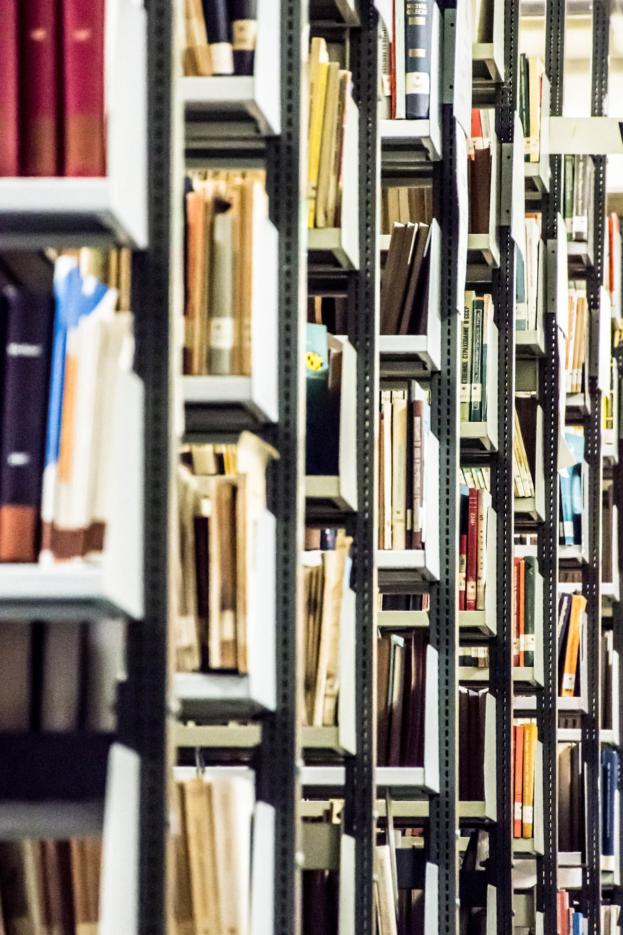 Books Full Frame Backgrounds No People Close-up Open Stack Berlin Freie Universität Studying Student Studieren Learn Study Archives Architecture Book Research University Shelf Education Bookshelf Indoors  Library Bookstore Bookshelves Book Shelves