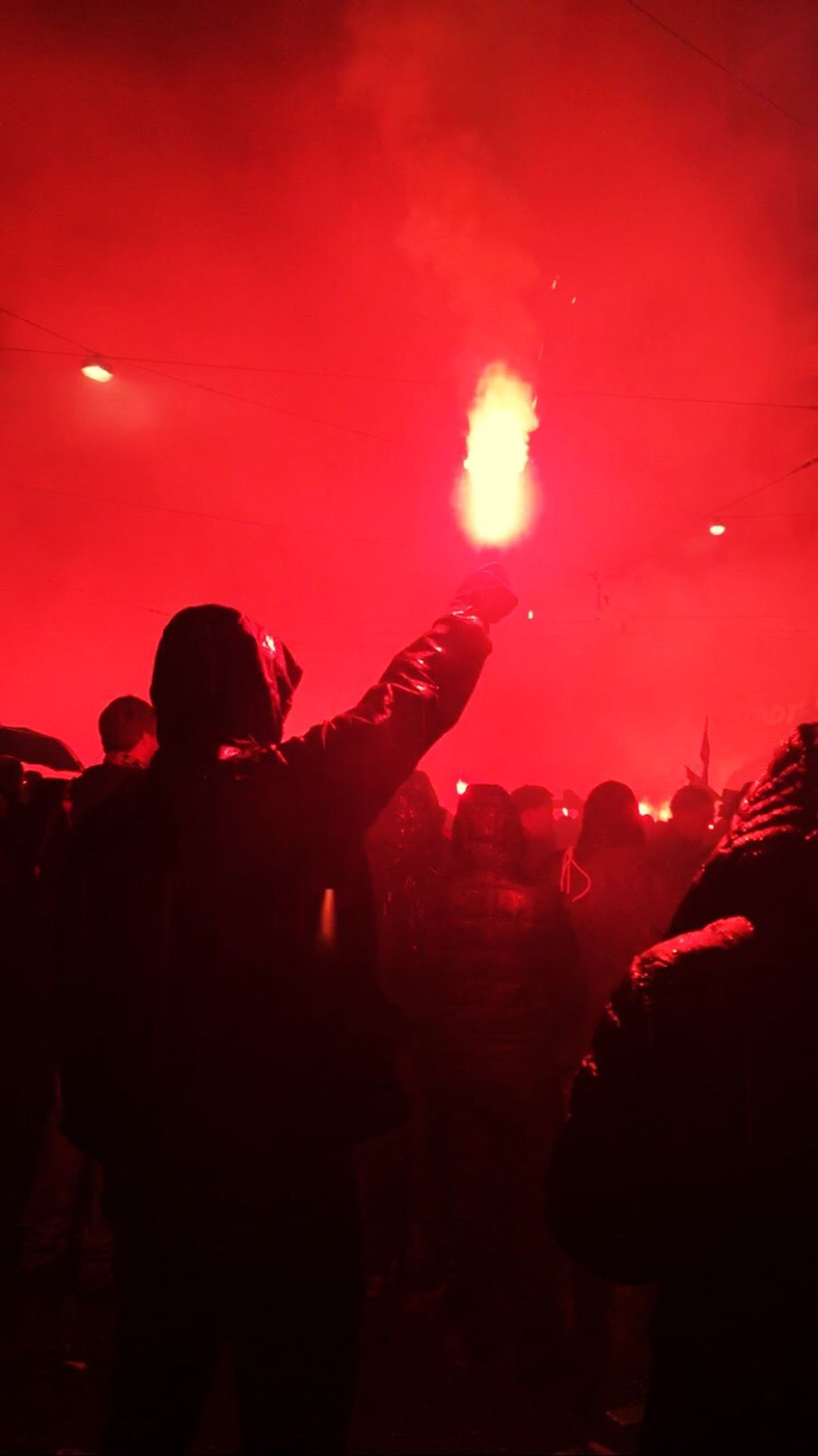 The Photojournalist - 2017 EyeEm Awards Arts Culture And Entertainment Nightlife Silhouette Crowd Event Performance Large Group Of People Pyro