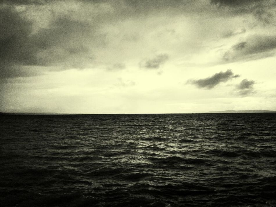 Blackandwhite Balaton Lake View Bnw_friday_challenge