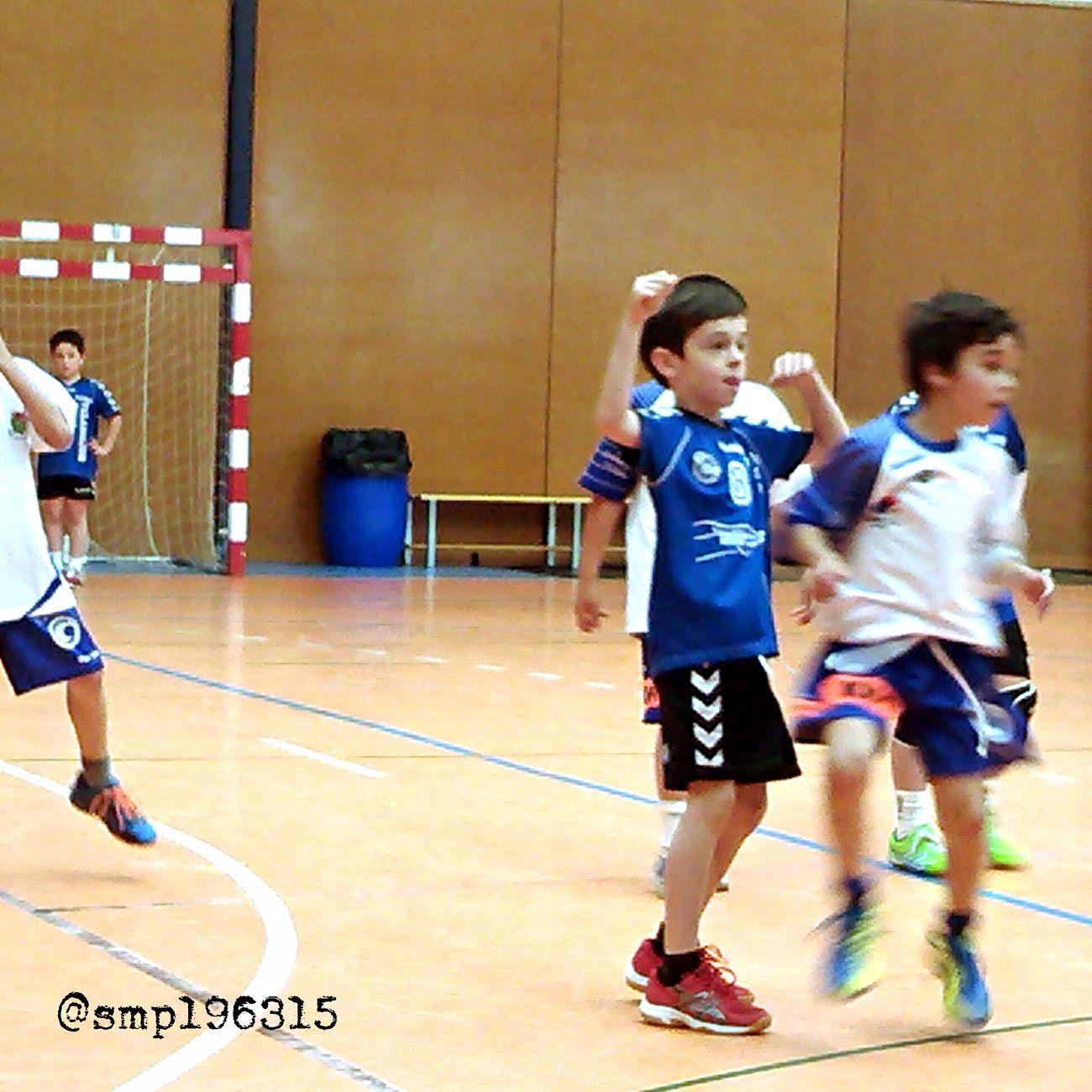 Handball Santantonidevilamajor vs Granollers prebenjamín 7/15. Igersvoriental