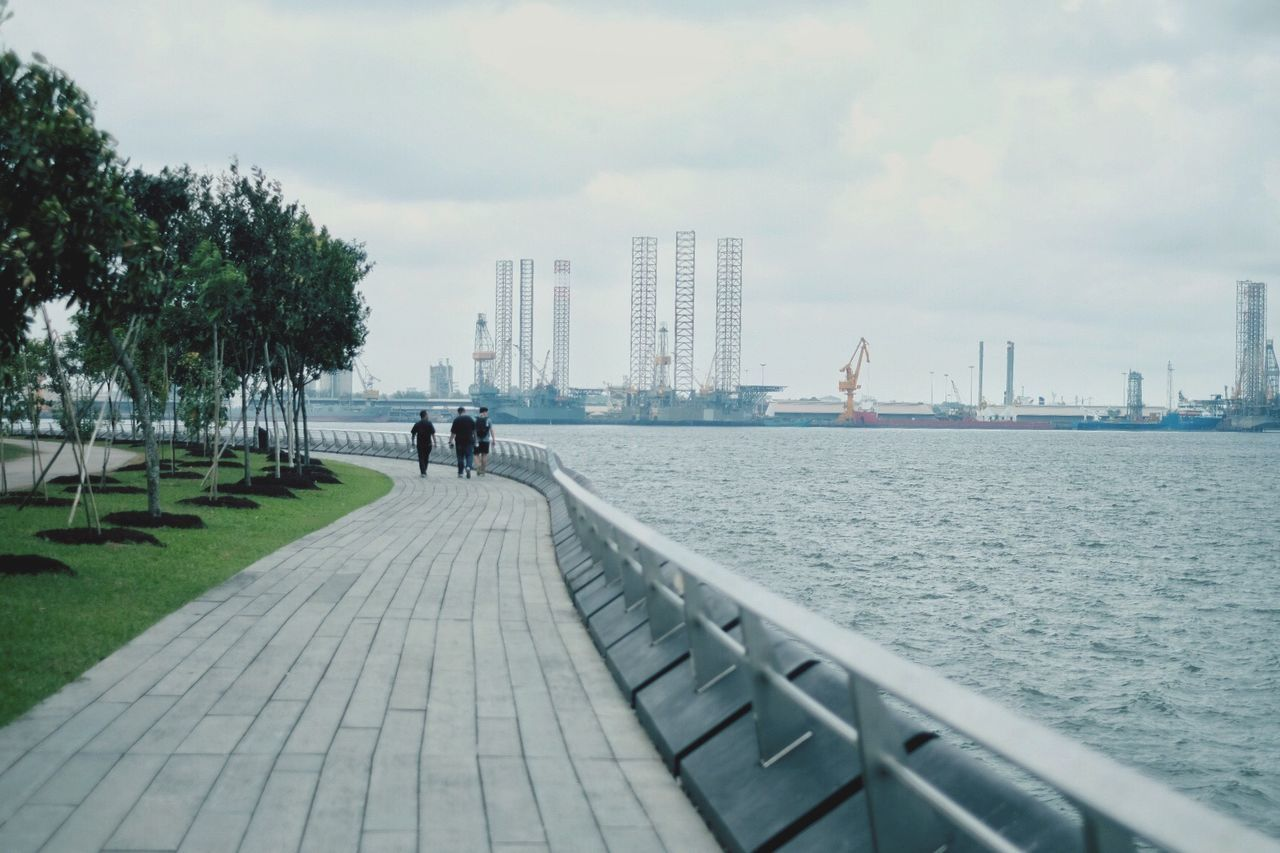EyeEmNewHere Outdoors Water Nature Wark Park Refinery Industrial Landscapes