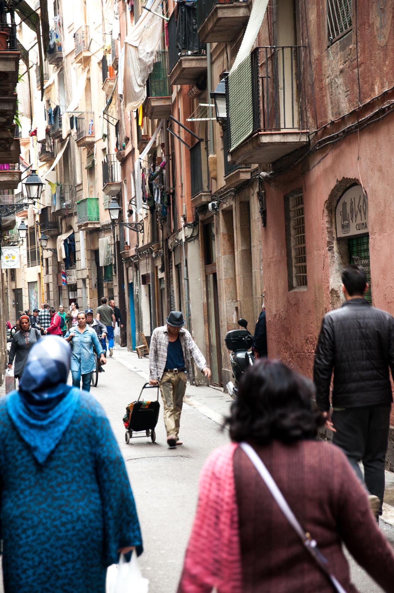 Real People Architecture TheWeekOnEyeEM Barcelona Streets Barcelona Tourism Travel Destinations