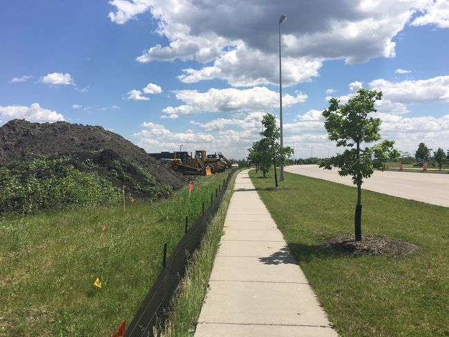 June 5, 2016 / Fargo, North Dakota Cloud Cloud - Sky Clouds Cloudy Day Diminishing Perspective Empty Fargo Footpath Grass Green Color Growth Nature North Dakota Outdoors Road Sky Skyporn South Fargo Spring The Way Forward Tranquil Scene Tranquility Tree Vanishing Point