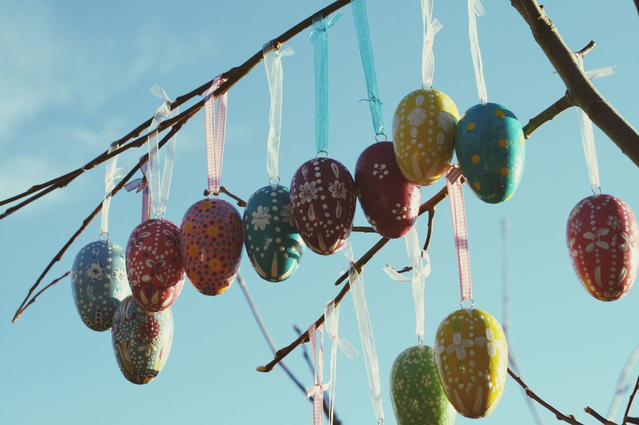 HandPainted Happy Easter Easter Eggs Easter