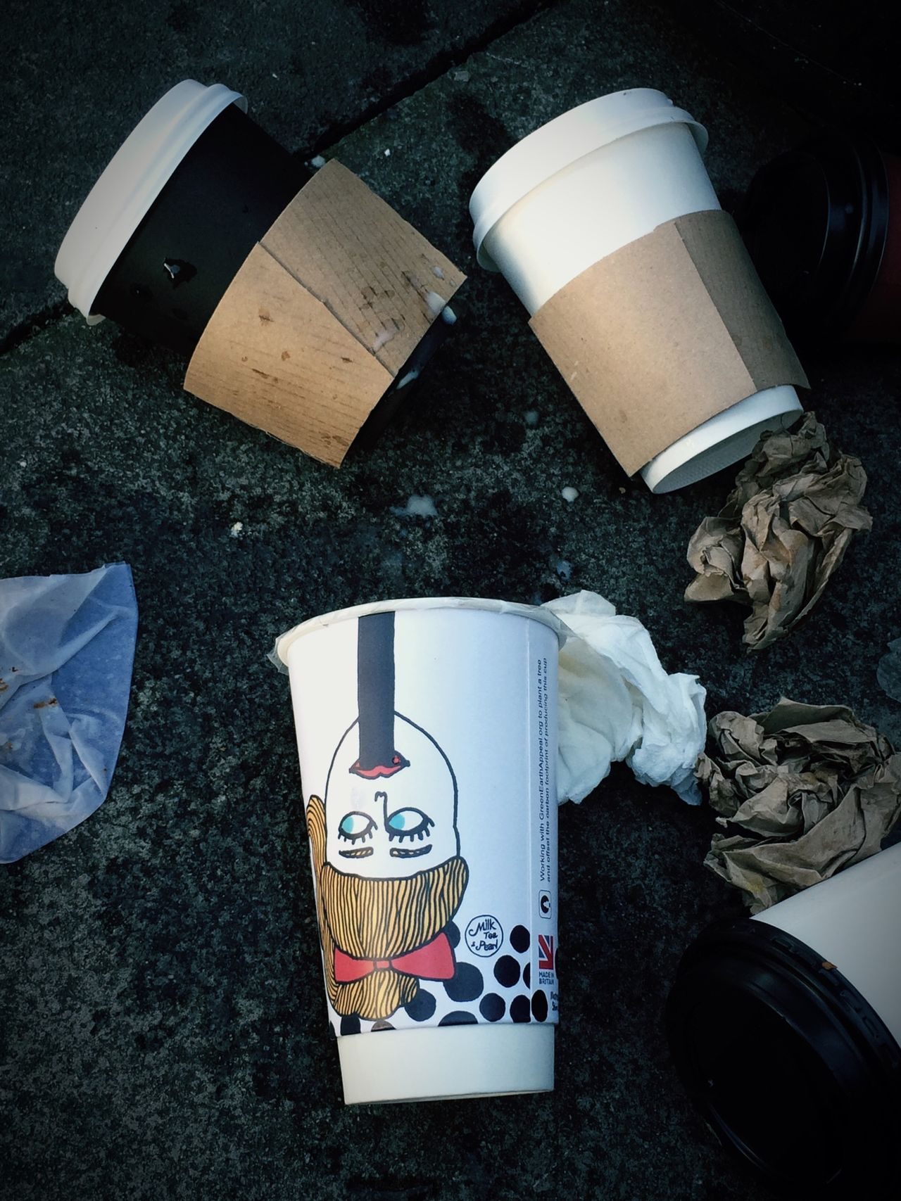 Bin Streetstyle Empty Waste Recycle Recycling Coffee Coffecup Givingup Safetheplanet Trash Humanrace Human