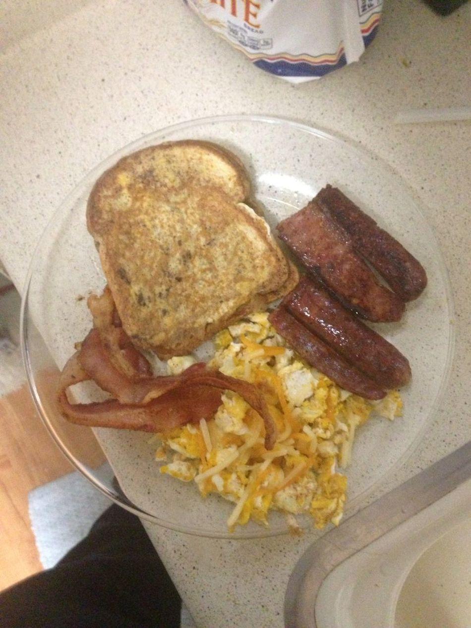 A Real Thugs Breakfast...